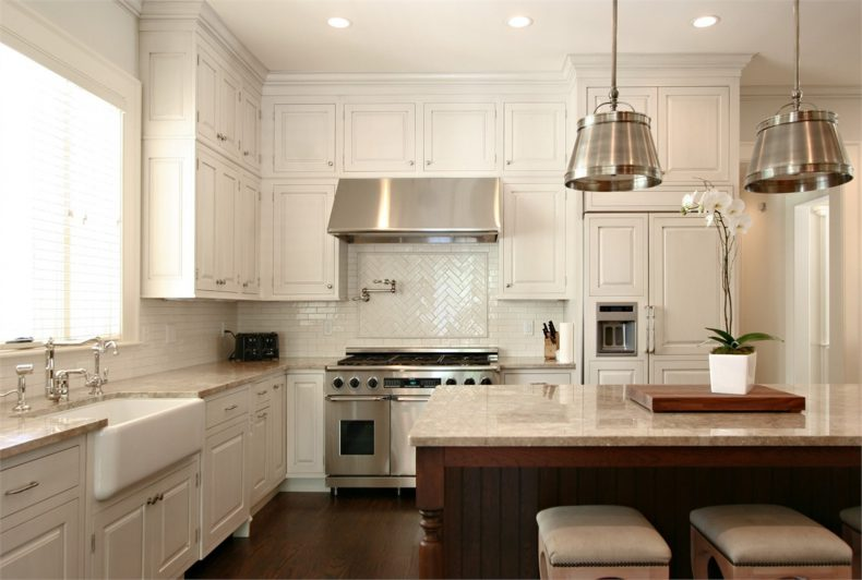 open-white-cabinet-rack-wall-mounted_round-recessed-ceiling-lamp_cabinet-storage-wall-mounted_white-wooden-cup-boards_kitchen-remodel-island_antique-hanging-lamp_white-painted-wall